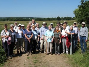 Ramblers at Stapleford-June 2010